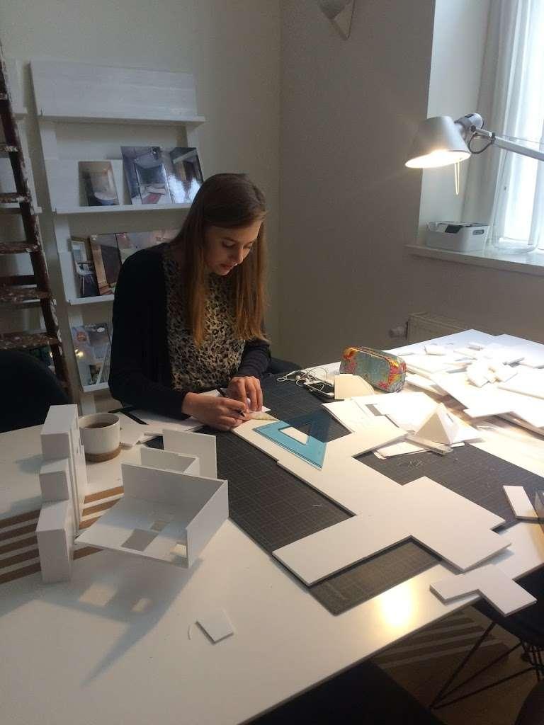 Een maquette bouwen voor een kleine woning in Haarlem