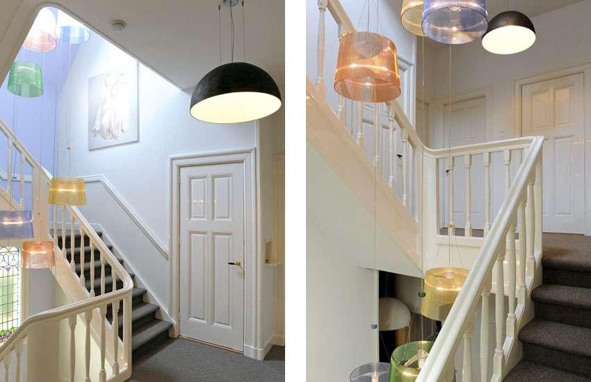 Inge Bouman Interieur Architectuur Badkamerontwerp en lichtontwerp trappenhuis
