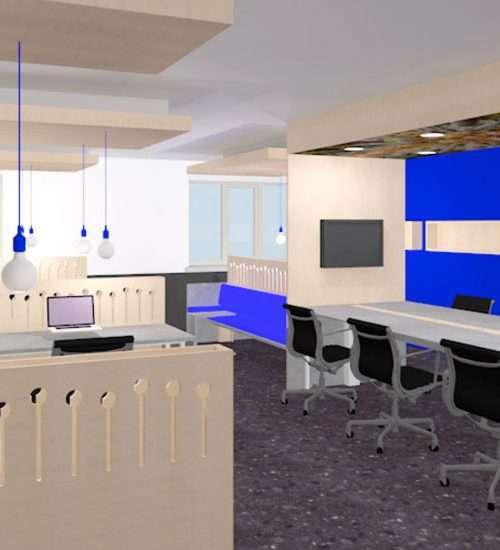 Verbouw kantoorontwerp Barcelona